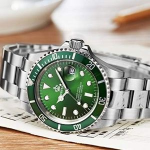 Other - Presidential Silver Watch Hulk Mens Sapphire Glass